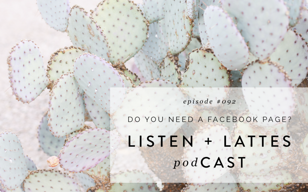 092 | Do You Need a Facebook Page?