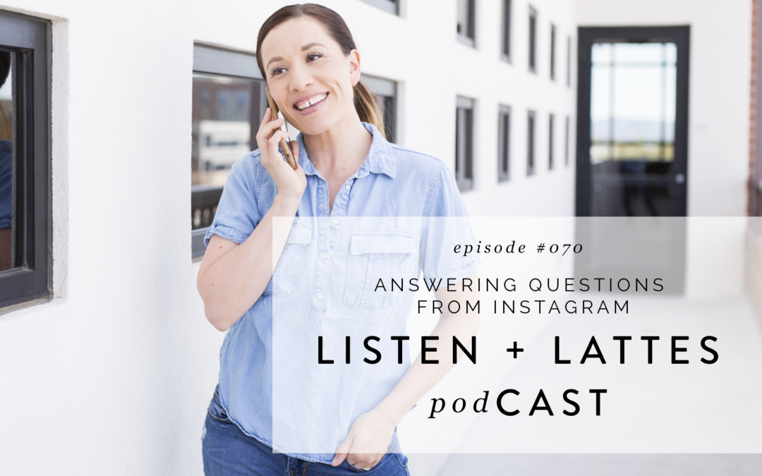 070 | Answering Questions from Instagram